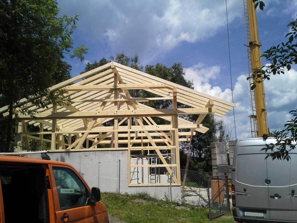 Neubau: Bau einer Maschinenhalle von Tobias Greinwald – Zimmerei / Bautenschutz / Trockenbau