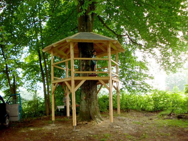 Sonderwünsche aus Holz: Baumhaus als besonderer Spielplatz von Tobias Greinwald – Zimmerei / Bautenschutz / Trockenbau