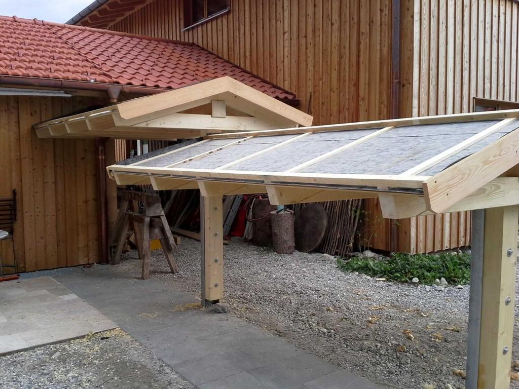 Anbauten aus Holz: Holzlager im Bau von Tobias Greinwald – Zimmerei / Bautenschutz / Trockenbau
