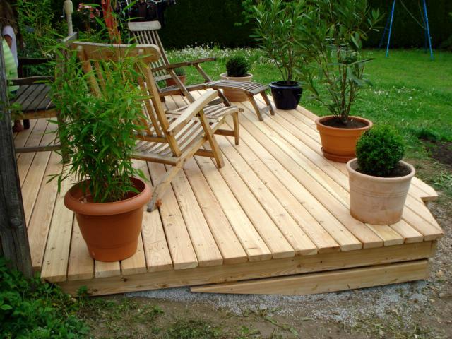 Terrassen aus Holz: Holzterrasse von Tobias Greinwald – Zimmerei / Bautenschutz / Trockenbau