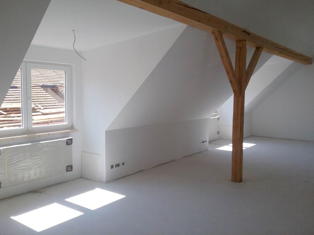 Innenausbau von Büroräumen